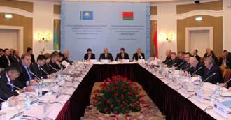 В Астане обсудили торгово-экономическое сотрудничество Казахстана и Беларуси