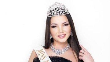 22-летней Алие Мухановой из Актобе достался титул первой вице-мисс Казахстан