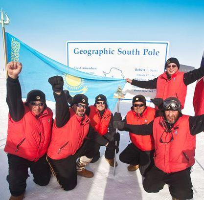 В Алматы прошла презентация фильма о первой экспедиции казахстанцев на Южный Полюс