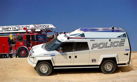 Американцы построили для полиции «многозадачный» бронемобиль (фото)
