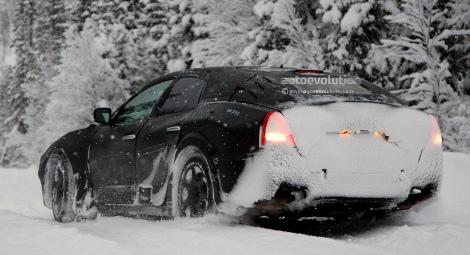 Появились шпионские фотографии новой модели Maserati