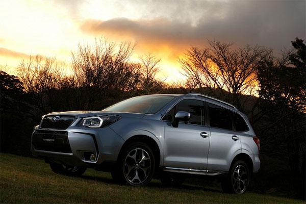 Спрос на новый Forester превысил ожидания Subaru в четыре раза