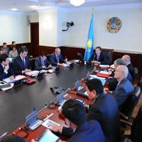 Заседание Правительства РК от 27 ноября 2012 года