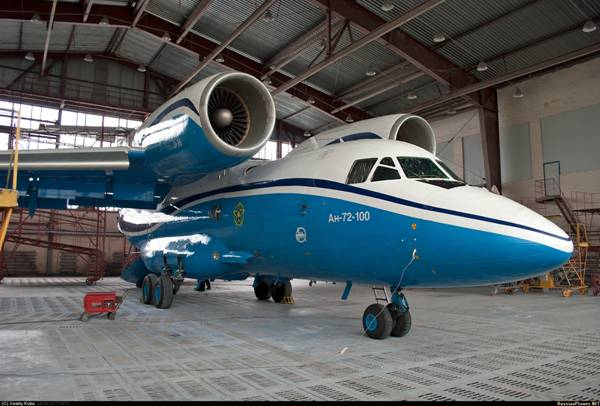 Как выглядел АН-72 до крушения (фото)