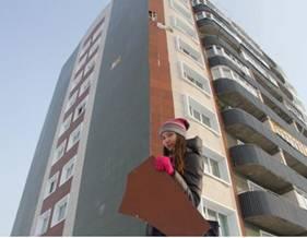 В Усть-Каменогорске жители новых многоэтажек по Карла Маркса с опаской ходят по улице