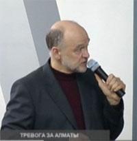 Андрей  Старков,  архитектор-проектировщик (в свое время проектировал  Чимбулак)
