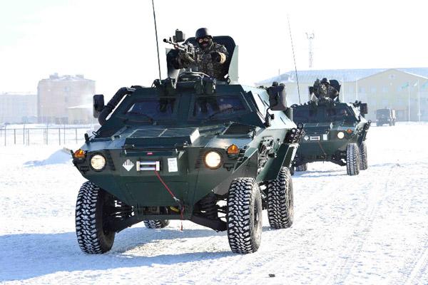 В Сухопутных войсках Вооруженных Сил Казахстана начались сборы офицеров по командирской подготовке (фото)