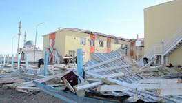 Ураган в Жамбылской области