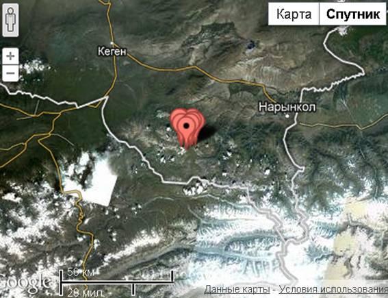 Несколько афтершоков зафиксировано после сильного землетрясения произошедшего в Алматинской области
