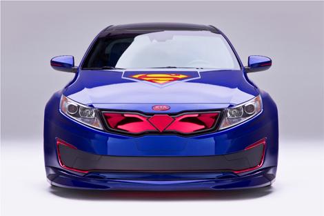Kia показала гибридную «Оптиму» для Супермена