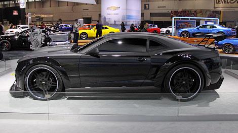 Компания Chevrolet построила 700-сильный «Камаро» для мультфильма