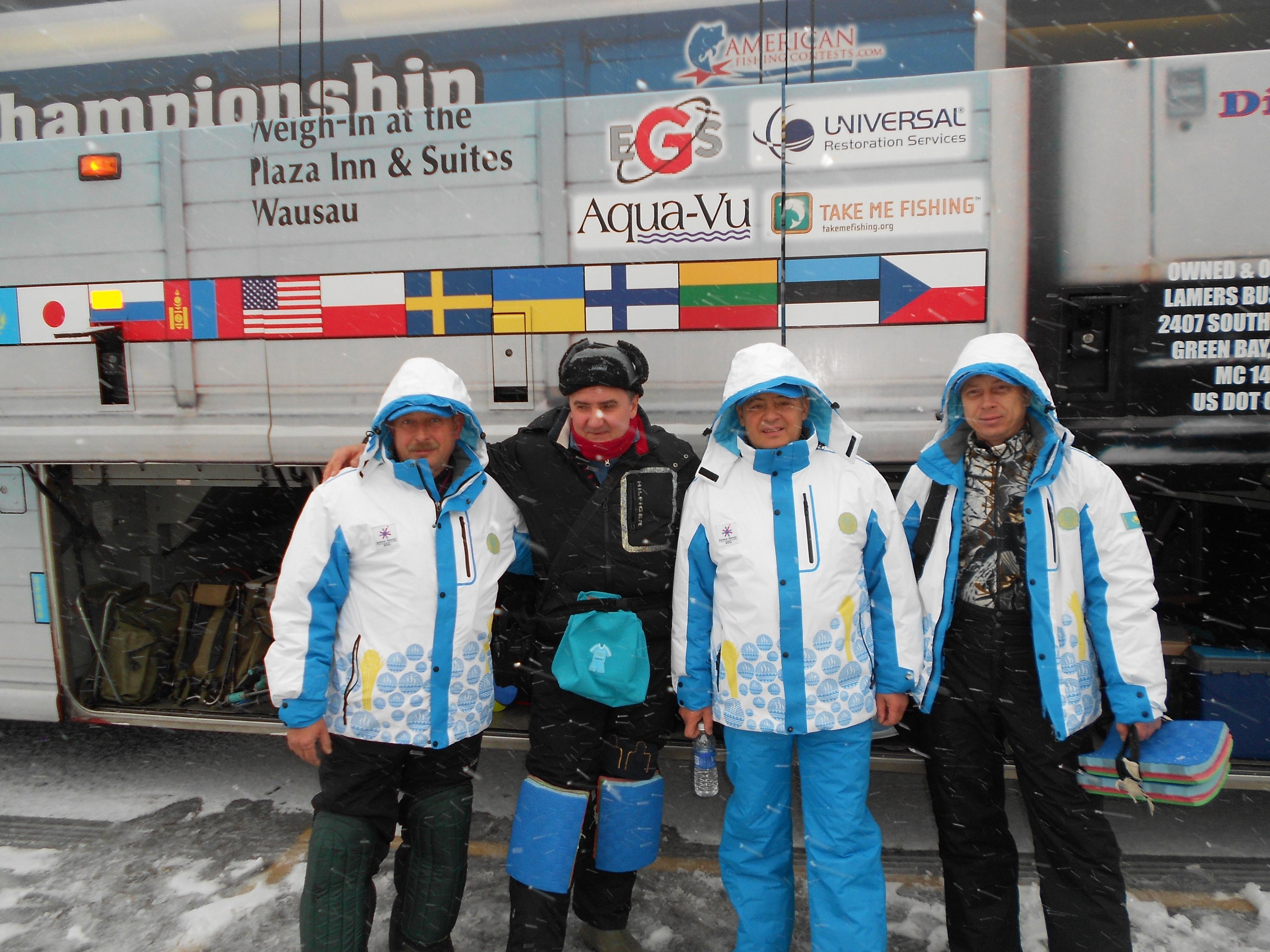 Казахстанцы примут участие в Чемпионате мира по спортивной ловле рыбы со льда на мормышку (фото)