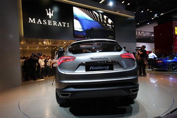 Компания Maserati запатентовала дизайн серийного внедорожника