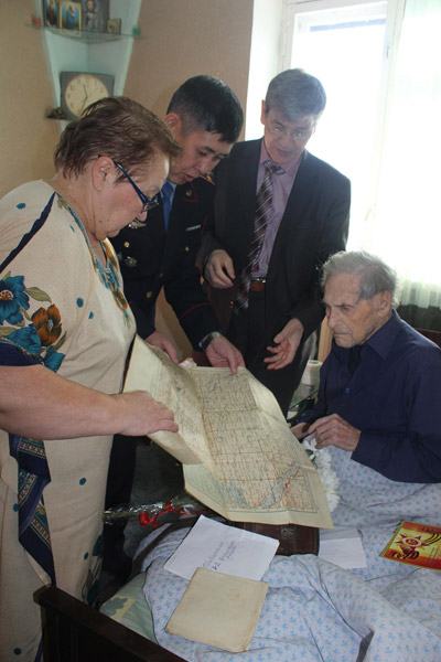 В СКО поздравили ветеранов Сталинградской битвы