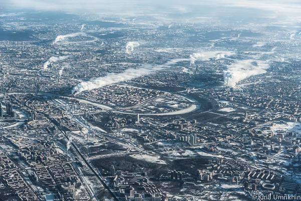 moskvapodkrilom 3 Под крылом самолета   Москва