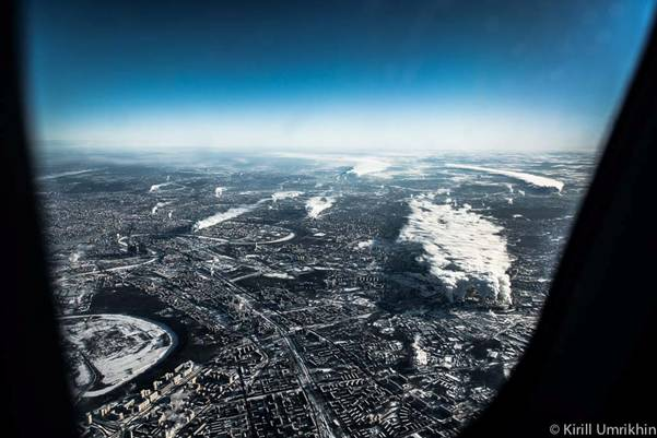 moskvapodkrilom 4 Под крылом самолета   Москва