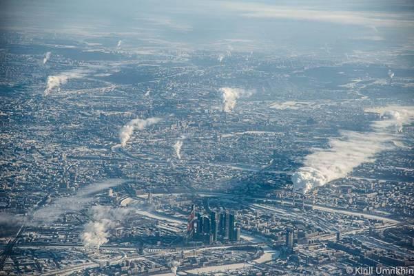 moskvapodkrilom 10 Под крылом самолета   Москва