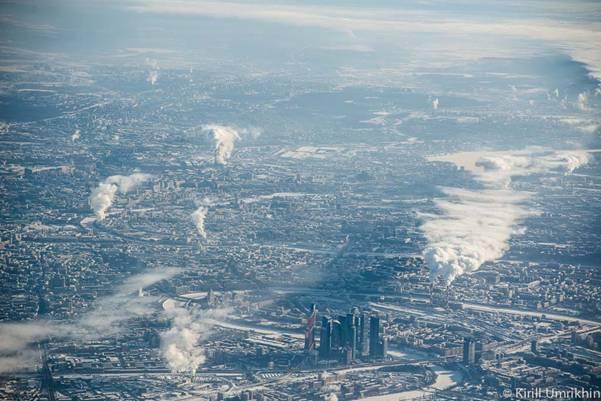 moskvapodkrilom 11 Под крылом самолета   Москва