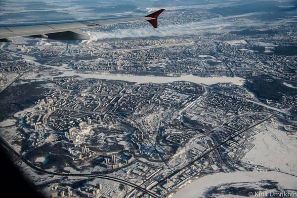 moskvapodkrilom 13 Под крылом самолета   Москва
