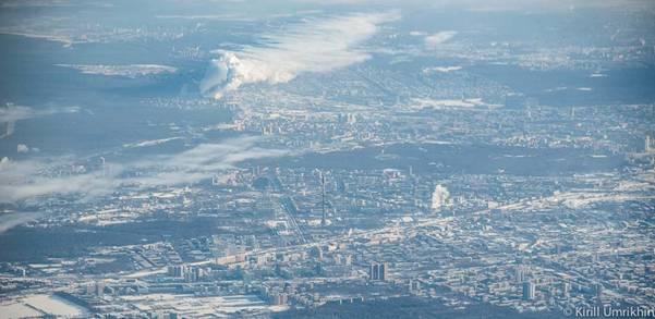 moskvapodkrilom 14 Под крылом самолета   Москва