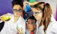 На столичном рынке развлечений появился новый тренд - химическое шоу