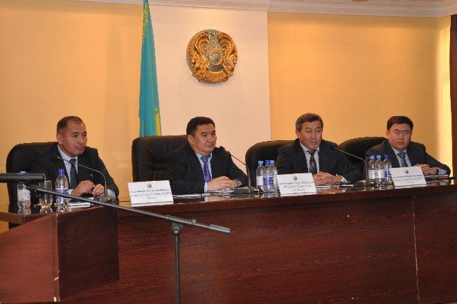 В департаменте финансовой полиции Алматы проведен региональный семинар-совещание