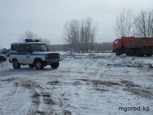 В Уральске выявлена незаконная добыча полезных ископаемых
