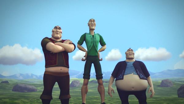В Казахстане стартует прокат первого национального полнометражного мультфильма «Ер Тостик и Айдахар»