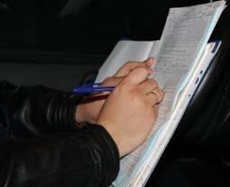 В Актау пьяный водитель, оскорблявший дорожных полицейских, водворен в ИВС