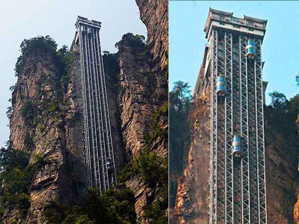 Лифт Ста Драконов - самый высокий открытый подъемник в мире
