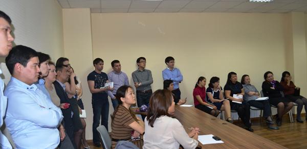 Представители Фонда недвижимости «Самрук-Казына» обсудили механизмы реализации жилья с сотрудниками холдинга «Касипкор»