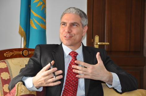 Верховный муфтий РК принял Генерального консула США в Алматы Майкла Сноудена