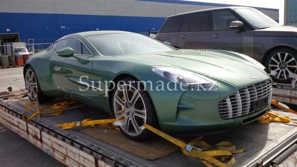В Алматы доставлен роскошный автомобиль Aston Martin One 77 (фото)