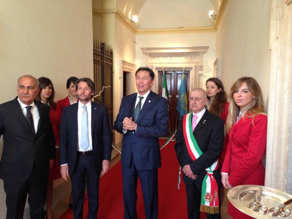 В регионе Италии открылось Почетное консульство Республики Казахстан (фото)