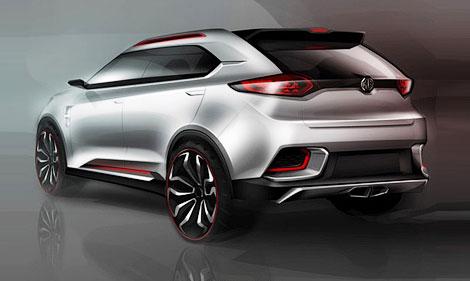 В Шанхае представят британо-китайского конкурента Nissan Juke