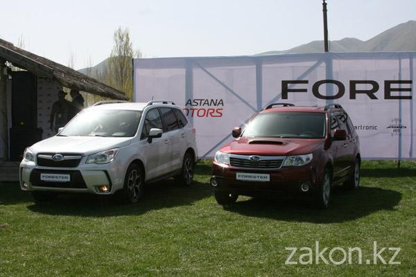 В Казахстане представили новую модель Subaru Forester четвертого поколения (фото)