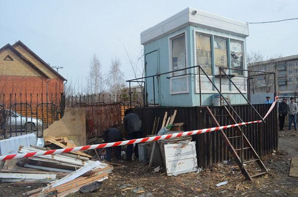 В Петропавловске задержан сторож-инвалид по подозрению в убийстве бродяги (фото)
