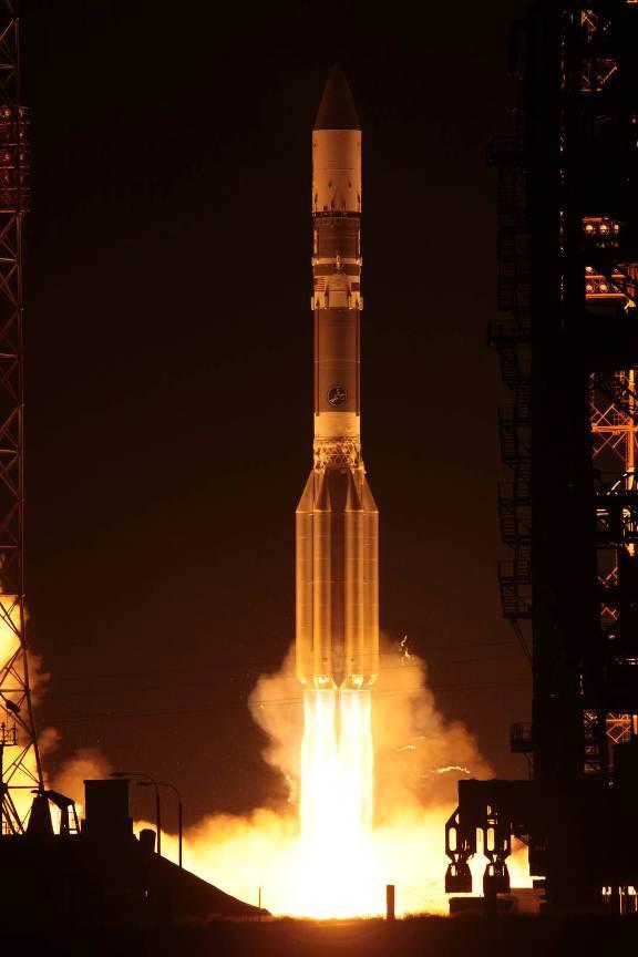 Ракета-носитель «Протон-М» с космическим аппаратом «Аник-Ж1» стартовала с космодрома Байконур