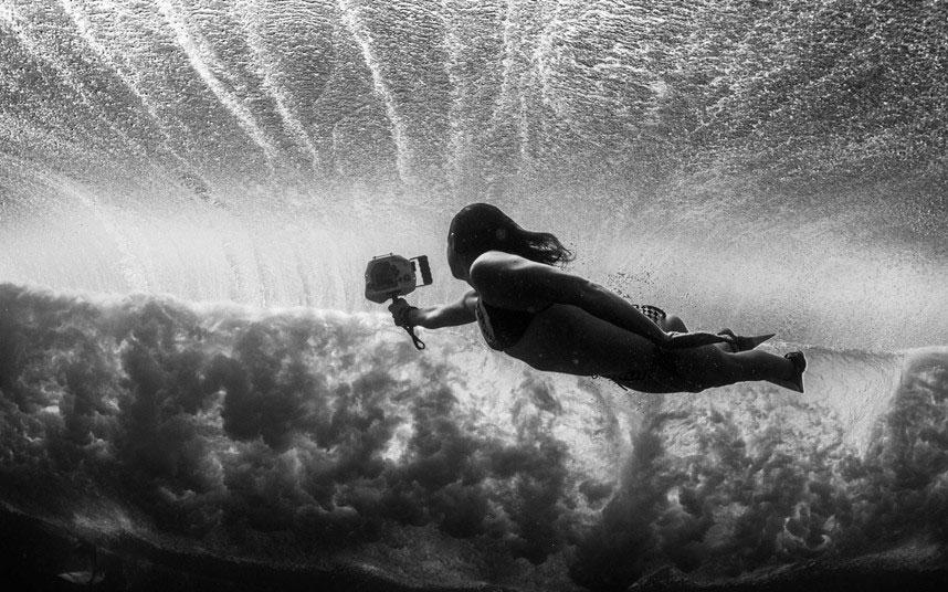 Подводные фотографии серферов