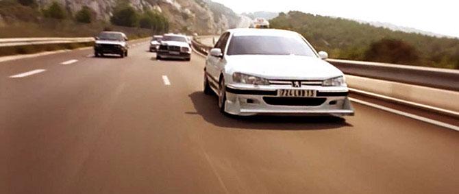 Фильм «Такси» - автомобили, принимавшие участие в съемках