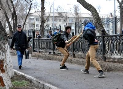 В минувшую субботу вся Астана вышла на массовый субботник