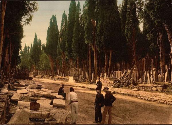Константинополь конца XIX-го - начала ХХ-го столетий