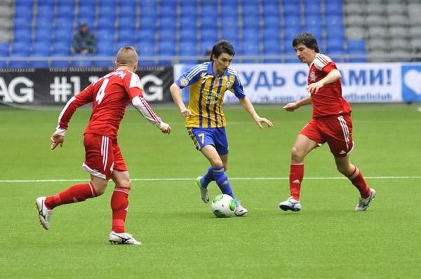 Конысбаев провел юбилейный матч