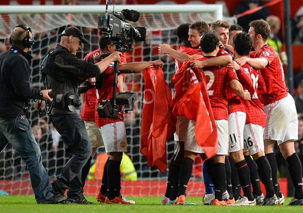 «Манчестер Юнайтед» в двадцатый раз стал чемпионом Англии