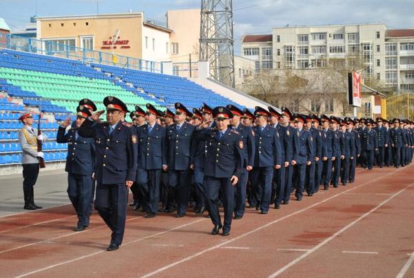 В Астане молодые сотрудники полиции в торжественной обстановке принесли присягу (фото)