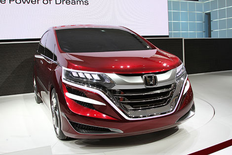 «Хонда» намекнула концептами на две будущие модели