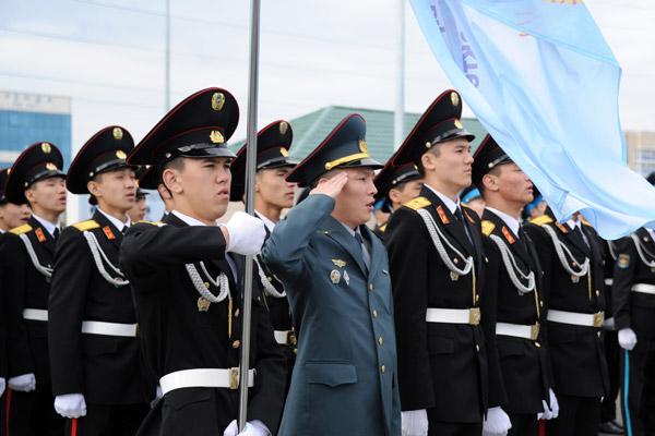 В Астане начались военно-спортивные игры среди воспитанников военных школ (фото)