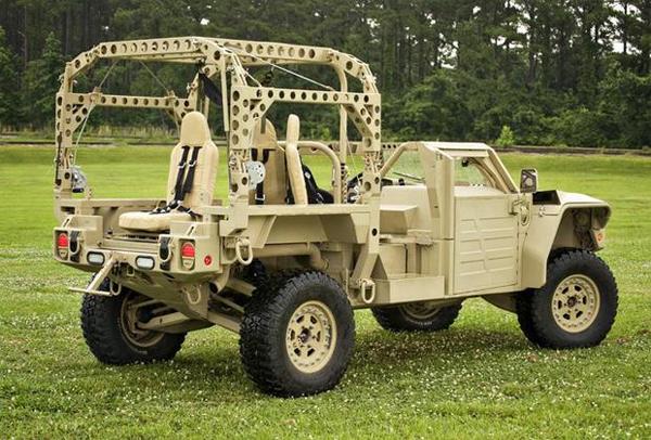 Американский спецназ закупит 1400 новых бронемашин