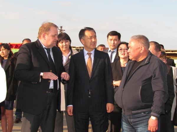 Состоялась рабочая поездка Бахытжана Сагинтаева в Семейский регион