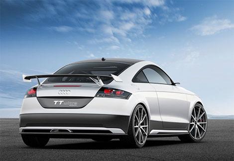 Audi построила сверхлегкое «заряженное» купе TT